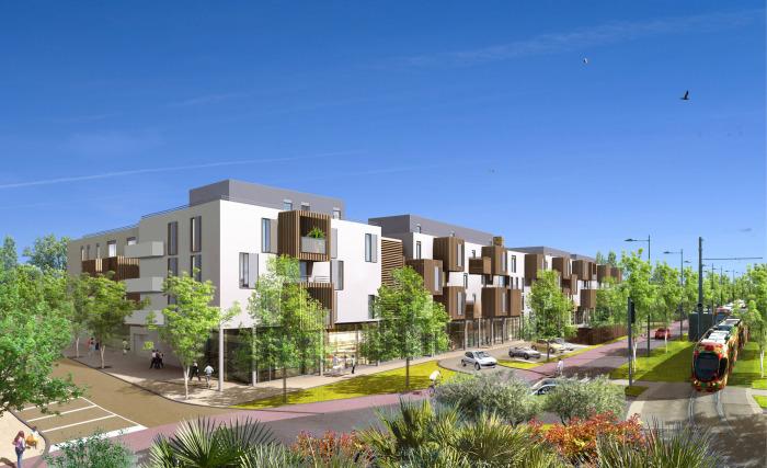 Maisons neuves et appartements neufs Castelnau-le-Lez référence 5520 : aperçu n°0