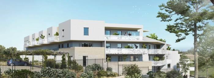 Appartements neufs Saint-Aunès référence 5525 : aperçu n°3