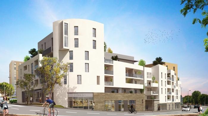 Appartements neufs La Pompignane référence 5544 : aperçu n°0