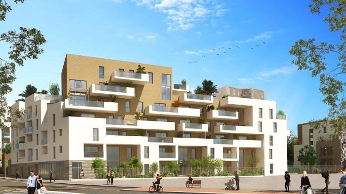 Appartements neufs La Pompignane référence 5544 : aperçu n°3