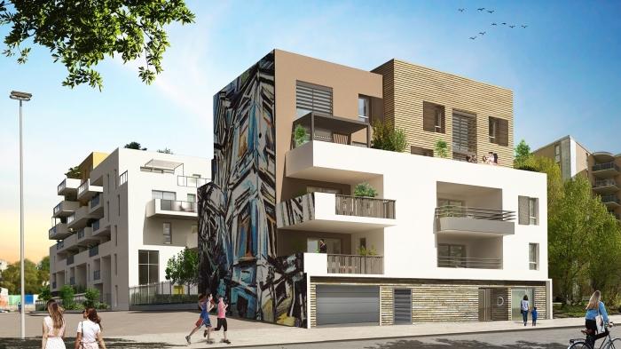 Appartements neufs La Pompignane référence 5544 : aperçu n°4