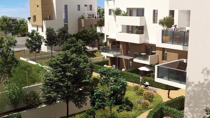 Appartements neufs La Pompignane référence 5544 : aperçu n°5