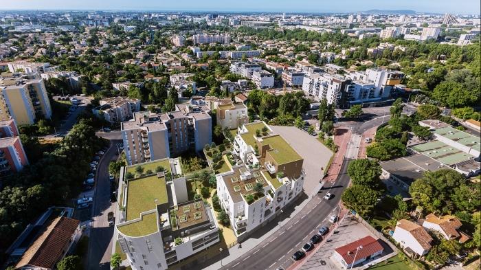 Appartements neufs La Pompignane référence 5544 : aperçu n°6