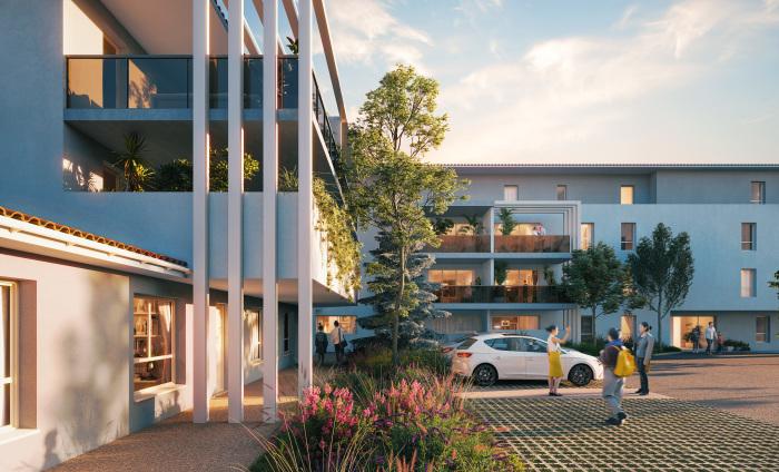 Appartements neufs Baillargues référence 5646 : aperçu n°2