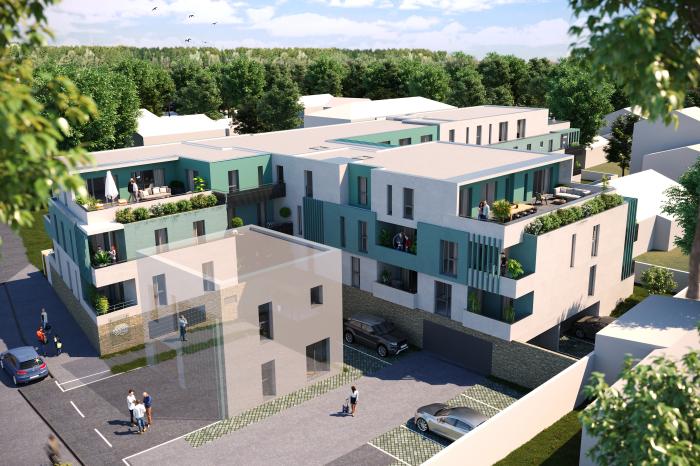 Appartements neufs Mauguio référence 5572 : aperçu n°2