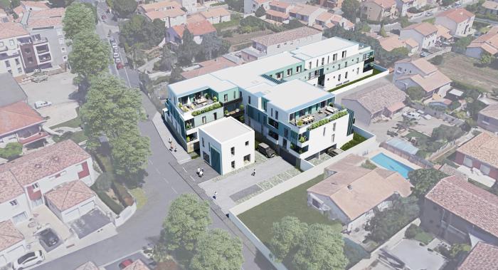 Appartements neufs Mauguio référence 5572 : aperçu n°3