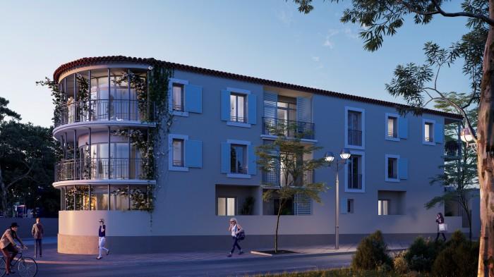 Appartements neufs Vendargues référence 5574 : aperçu n°2