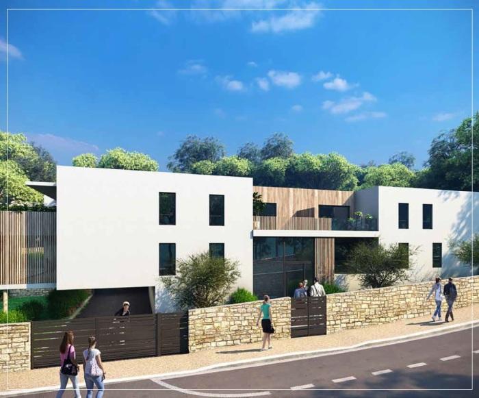 Appartements neufs Castelnau-le-Lez référence 5595 : aperçu n°2