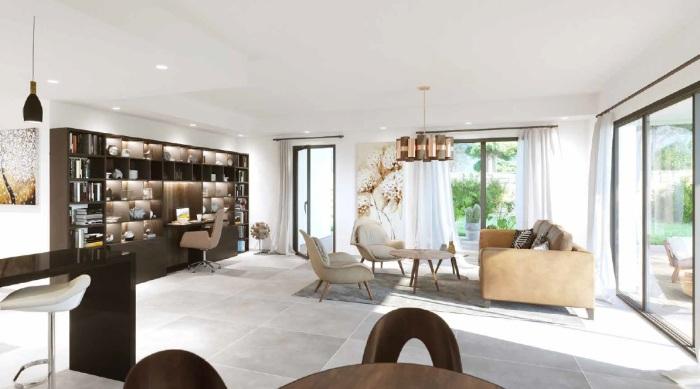 Appartements neufs Castelnau-le-Lez référence 5595 : aperçu n°1