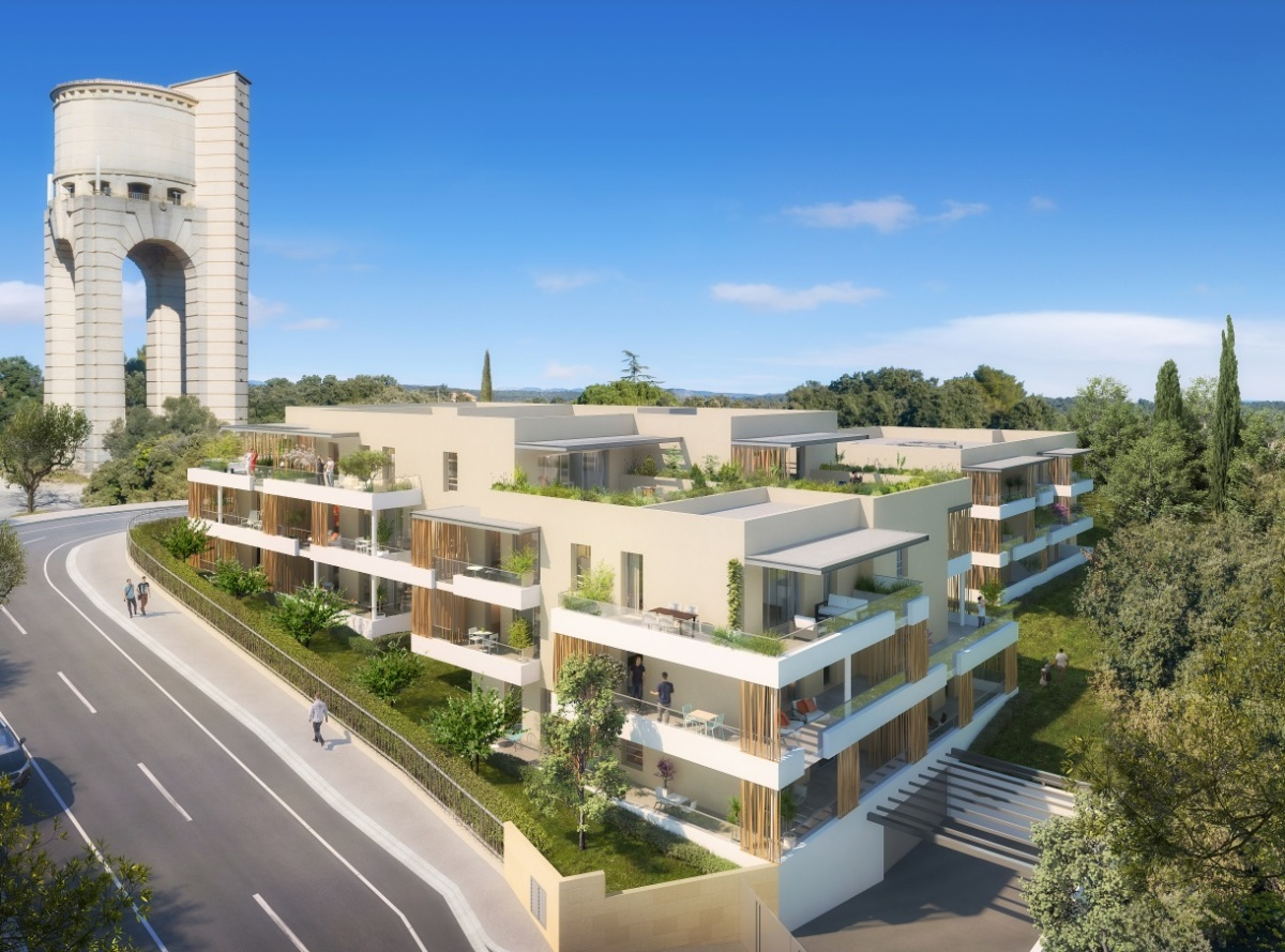 Urbat – Résidence Parc Élysée dans la commune de Castelnau-le-Lez