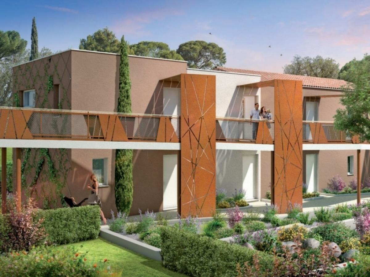 Bouygues Immobilier – Résidence Terra Jazz dans le quartier des Martelles