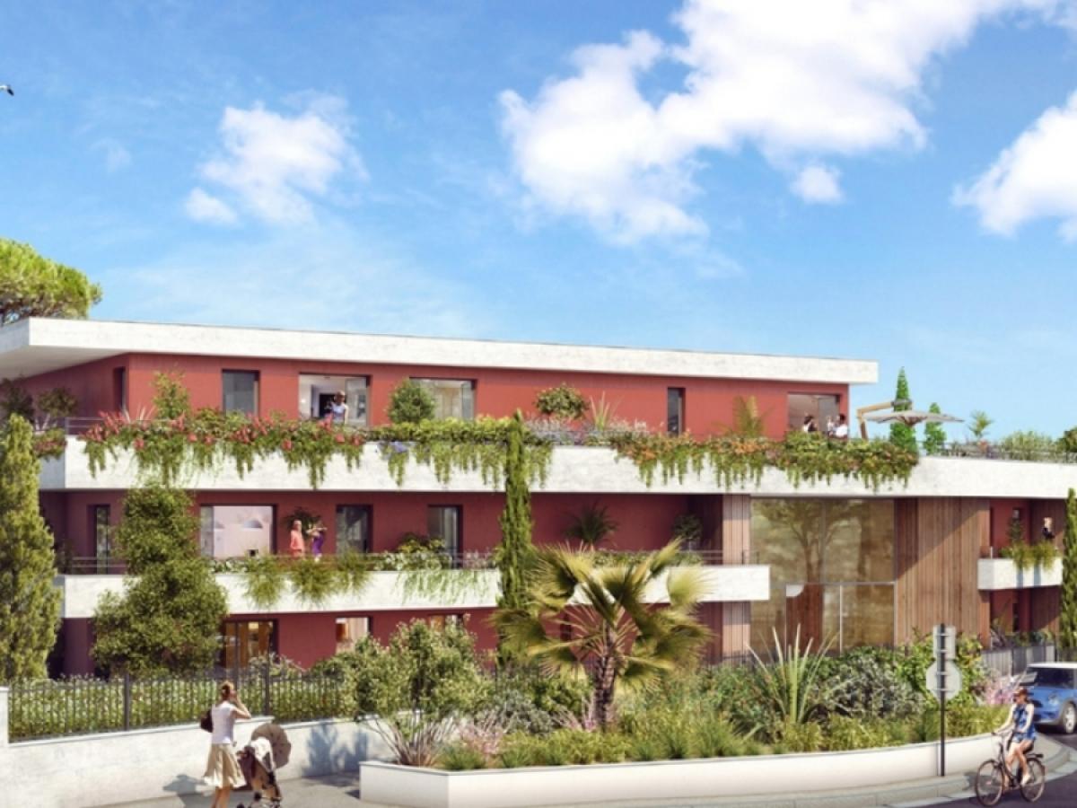 Icade – vue sur la résidence Domaine de la Parre à Saint-Jean-de-Védas