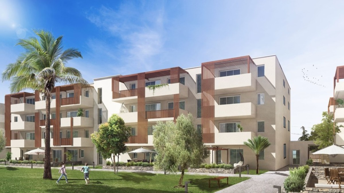 Oceanis Immobilier – Résidence Domaine des Lauriers dans la commune de Baillargues