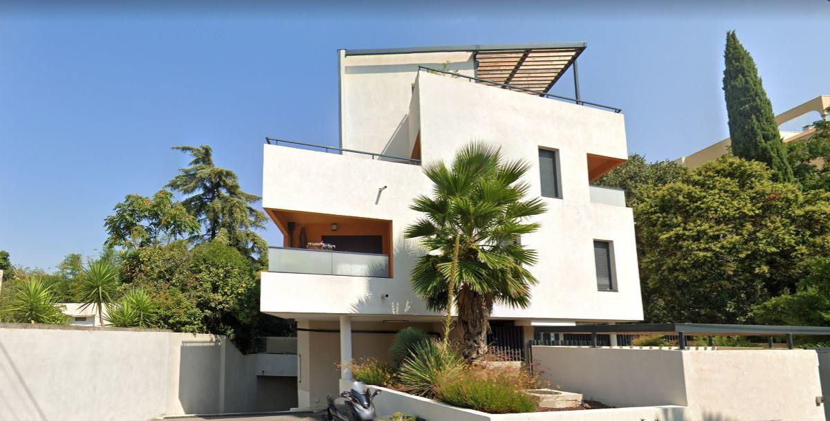 Pegase Immobilier - vue sur la résidence l'O2 à Montpellier