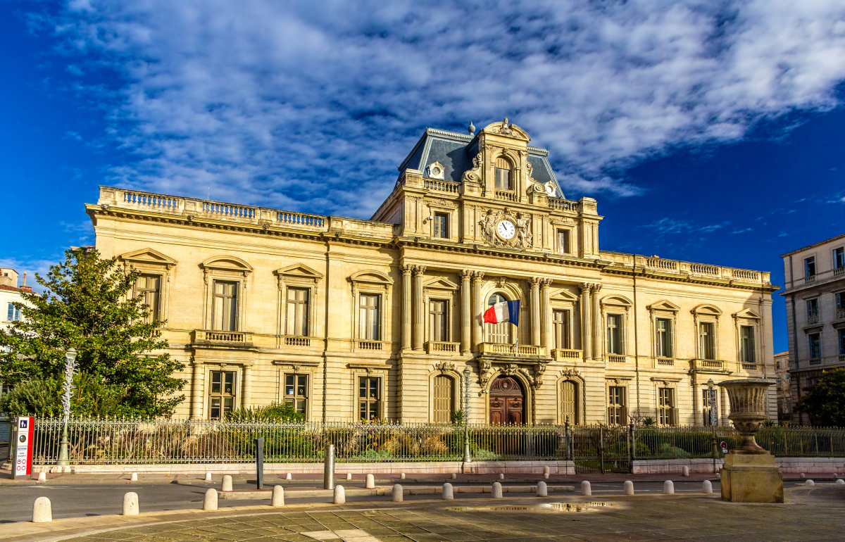 Montpellier zones Pinel – vue la préfecture de Montpellier
