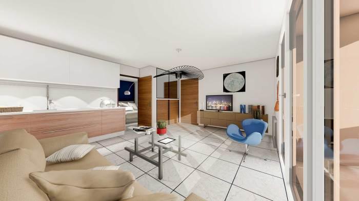Appartements neufs Castelnau-le-Lez référence 5599 : aperçu n°1