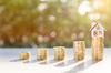 Taux immobilier à Montpellier et en Hérault – Illustration du concept d'épargne et apport
