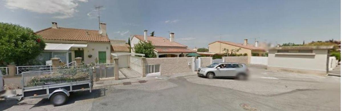 Des maisons dans le quartier des Garrigues
