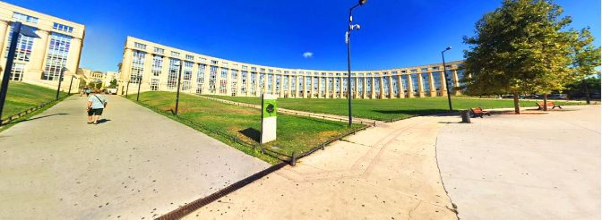 L'esplanade de l'Europe à Montpellier