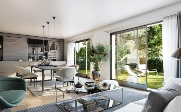 Maisons neuves Grabels référence 5613 : aperçu n°1