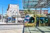 Ville de Montpellier avec Tramway