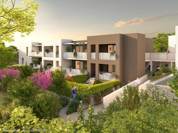 Appartements neufs Estanove référence 5640 : aperçu n°2