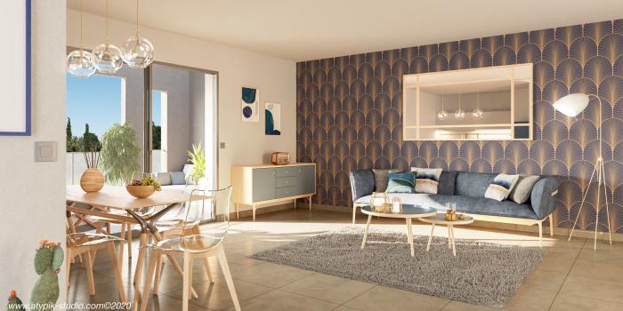Appartements neufs Estanove référence 5640 : aperçu n°1