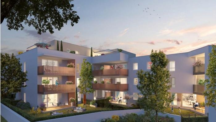 Appartements neufs Castelnau-le-Lez référence 5654 : aperçu n°2