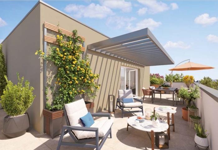 Appartements neufs Castelnau-le-Lez référence 5654 : aperçu n°3