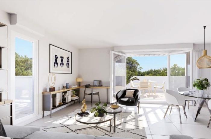 Appartements neufs Castelnau-le-Lez référence 5654 : aperçu n°1