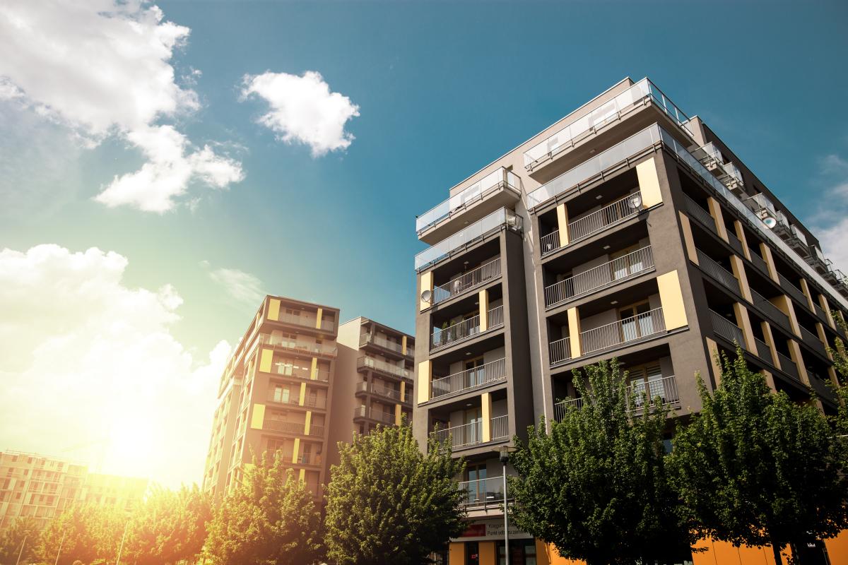 French Proptech – Image d'un immeuble de logements