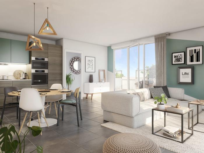 Appartements neufs Gambetta référence 5689 : aperçu n°1
