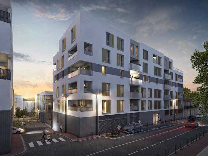 Appartements neufs Gambetta référence 5689 : aperçu n°2