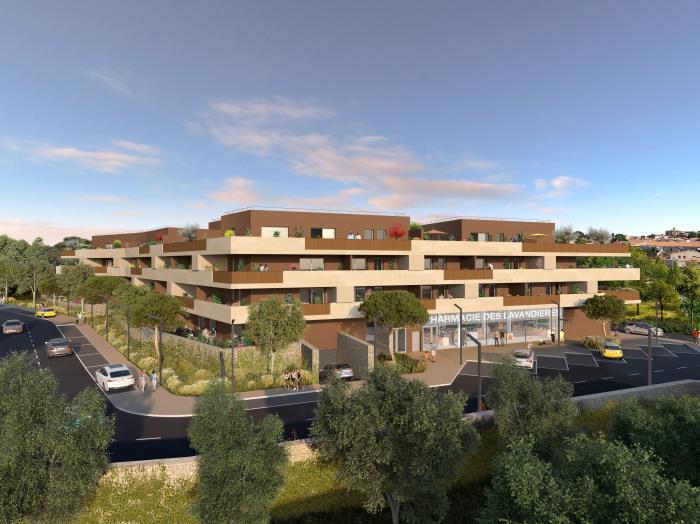 Appartements neufs Castries référence 5709 : aperçu n°0
