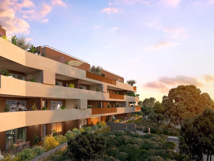 Appartements neufs Castries référence 5709 : aperçu n°2