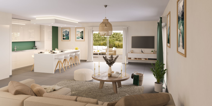 Appartements neufs Castries référence 5709 : aperçu n°1