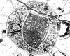 Histoire de Montpellier -Plan de Montpellier avant les guerres de religion (1737) -