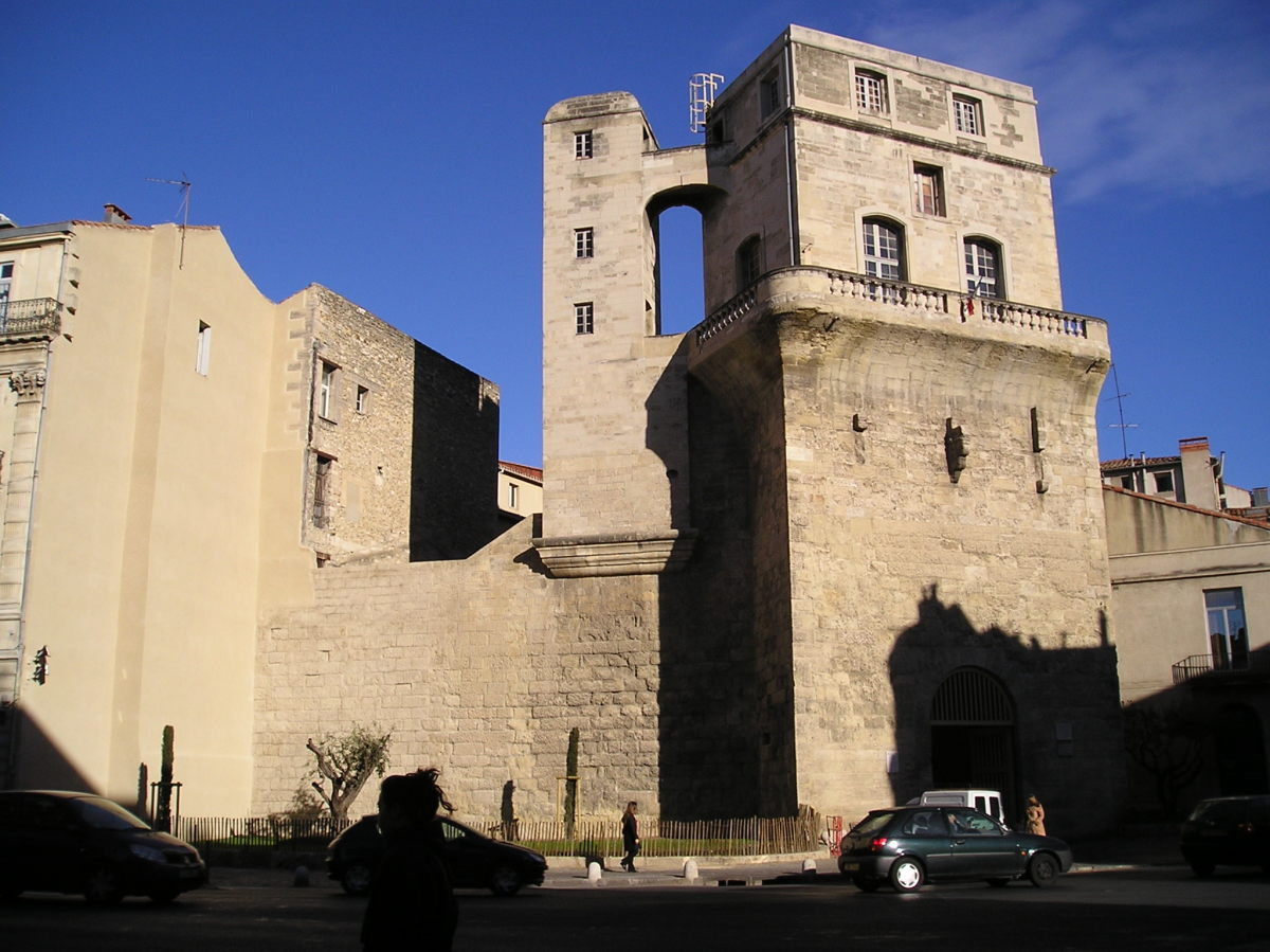 Urbanisme et architecture à Montpellier - Tour de la Babote à Montpellier