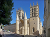 Architecture et urbanisme à Montpellier - La basilique de la cathédrale Saint-Pierre