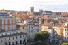 Vue sur la vieille ville de Montpellier