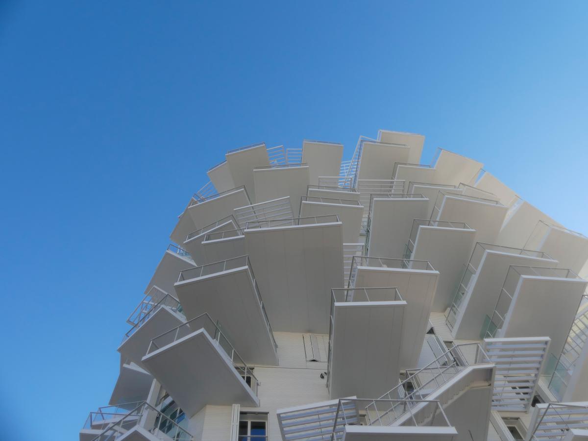 Immobilier neuf Montpellier - L'arbre blanc à Montpellier, une architecture unique