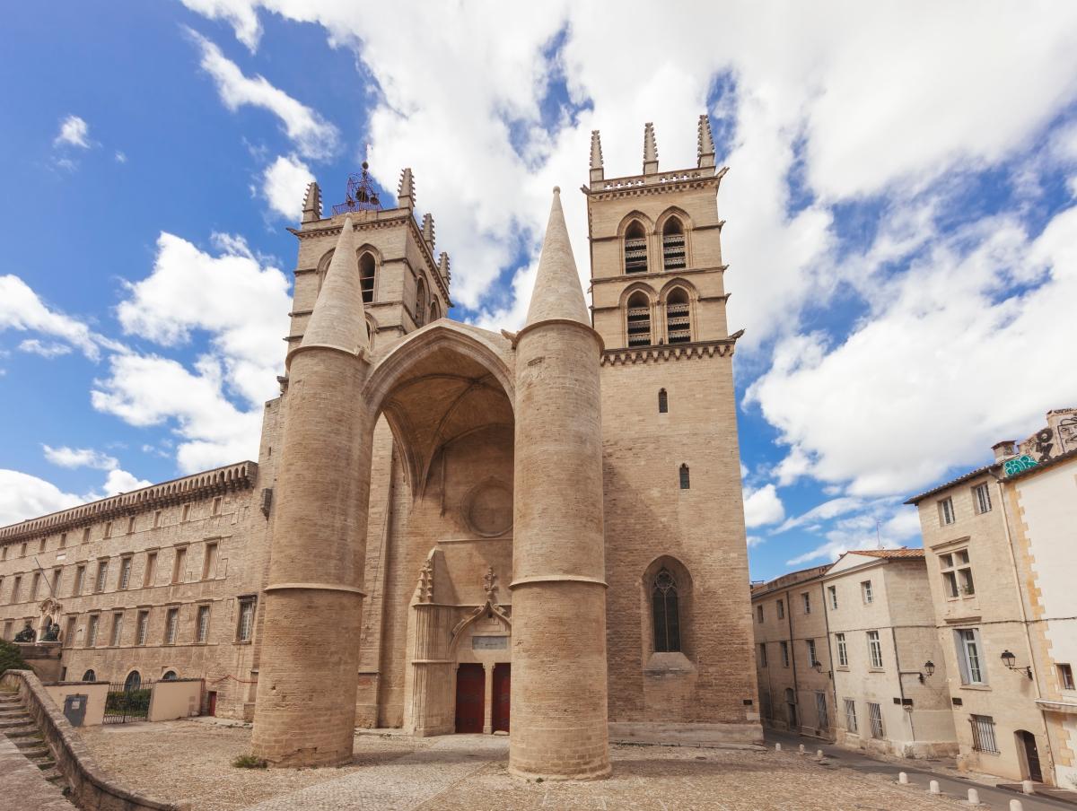 Cathédrale Sainte-Pierre à Montpellier-patrimoine