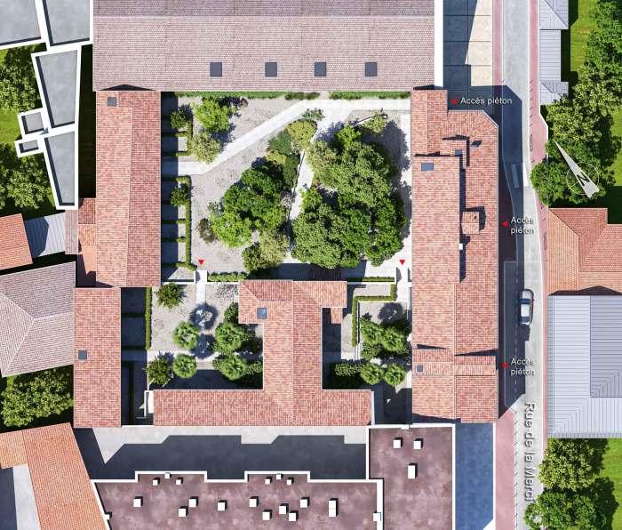 Appartements neufs Centre Historique référence 5741 : aperçu n°3