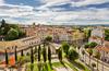 prix immobilier montpellier - vue aérienne sur la ville de Montpellier