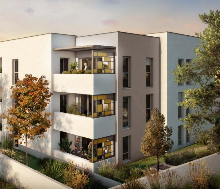 Appartements neufs Castelnau-le-Lez référence 5810 : aperçu n°2