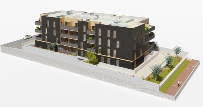 Appartements neufs Lattes référence 5836 : aperçu n°3