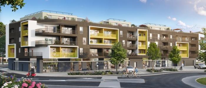 Appartements neufs Castelnau-le-Lez référence 5829 : aperçu n°2