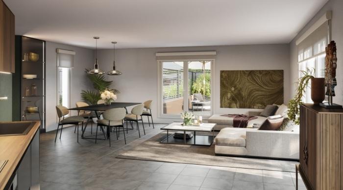 Appartements neufs Castelnau-le-Lez référence 5829 : aperçu n°1