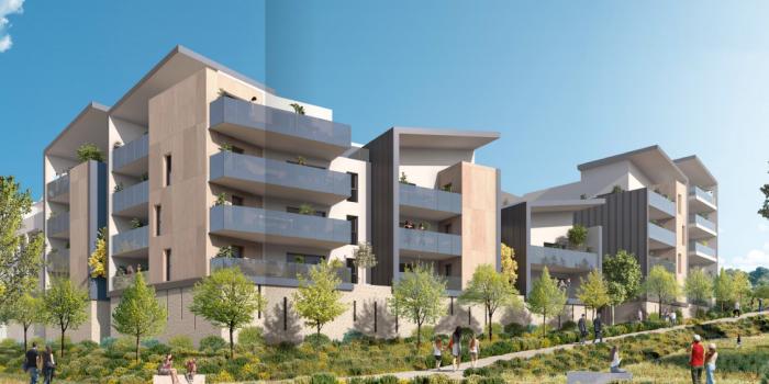 Appartements neufs Saint-Jean-de-Védas référence 5881 : aperçu n°0