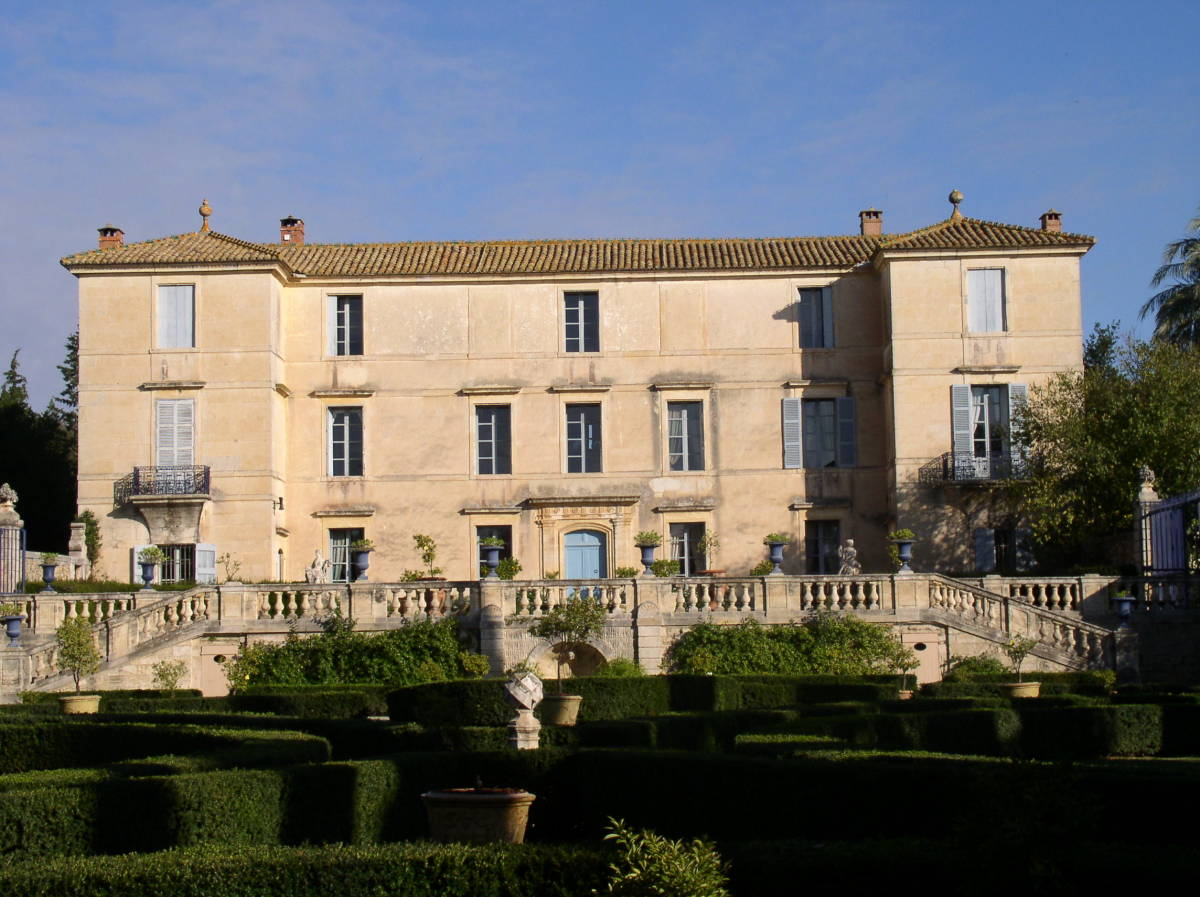 Montpellier – Vue du Château de Flaugergues